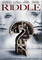 Cover image for Riddle [videorecording DVD]