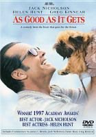 Cover image for As good as it gets