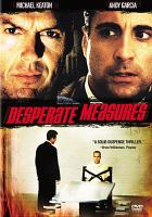 Cover image for Desperate measures