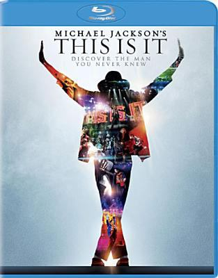 Cover image for Michael Jackson's This is it [videorecording Blu-ray]