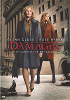 Cover image for Damages. Season 3, Disc 1 & 2