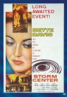 Cover image for Storm center