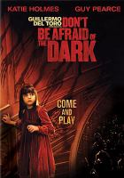 Cover image for Don't be afraid of the dark