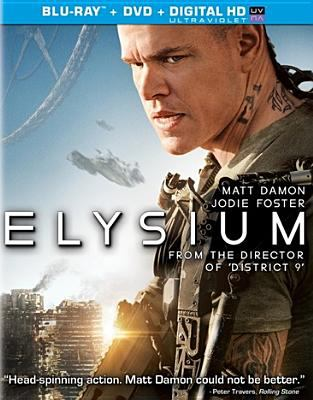 Cover image for Elysium [videorecording Blu-ray]