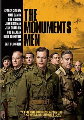 Cover image for The monuments men [videorecording DVD]