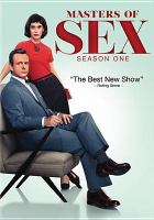 Cover image for Masters of sex. Season 1, Complete [videorecording DVD]