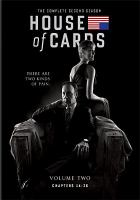 Cover image for House of cards. Season 2, Complete [videorecording DVD] : (Kevin Spacey version)