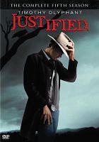 Cover image for Justified. Season 5, Complete [videorecording DVD].