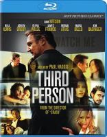 Cover image for Third person [videorecording Blu-ray]