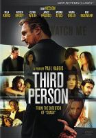 Cover image for Third person [videorecording DVD]