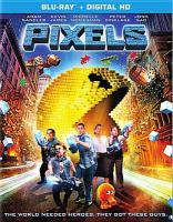 Cover image for Pixels [videorecording Blu-ray]