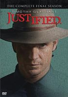 Cover image for Justified. Season 6, Complete [videorecording DVD] : the final season