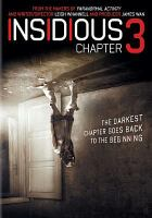 Cover image for Insidious. Chapter 3 [videorecording DVD]