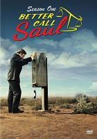Cover image for Better call Saul. Season 1, Complete [videorecording DVD].