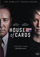 Cover image for House of cards. Season 4, Complete [videorecording DVD] : (Kevin Spacey version)