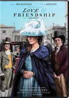 Cover image for Love & friendship [videorecording DVD]