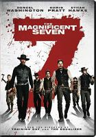Cover image for The magnificent seven [videorecording DVD] (Denzel Washington version)