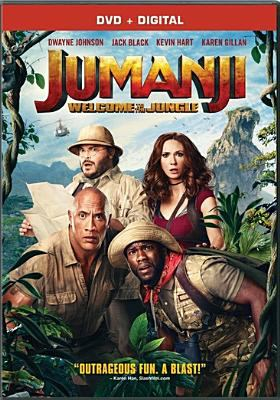 Cover image for Jumanji. Welcome to the jungle [videorecording DVD]