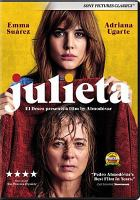 Cover image for Julieta [videorecording DVD]