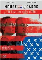 Cover image for House of cards. Season 5, Complete [videorecording DVD]