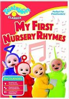 Imagen de portada para Teletubbies classics. My first nursery rhymes [videorecording DVD].