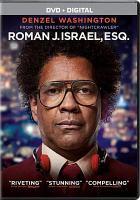 Imagen de portada para Roman J. Israel, Esq. [videorecording DVD]