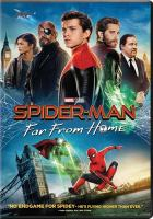 Cover image for Spider-Man. Far from home [videorecording DVD] (Tom Holland version)