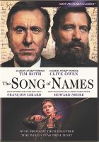 Cover image for The song of names [videorecording DVD]