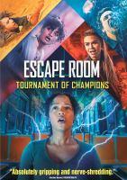 Imagen de portada para Escape room [videorecording DVD] : Tournament of champions