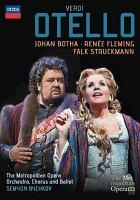 Cover image for Otello [videorecording DVD]