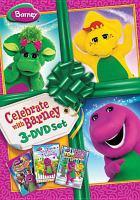 Cover image for Barney. Celebrating around the world [videorecording DVD]