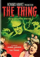 Cover image for The thing from another world [videorecording DVD].