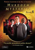 Cover image for Murdoch mysteries. Season 6, Complete