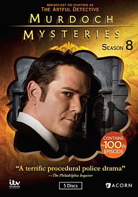 Cover image for Murdoch mysteries. Season 8, Complete [videorecording DVD]