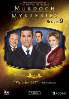 Cover image for Murdoch mysteries [videorecording DVD] : Season 9, Complete