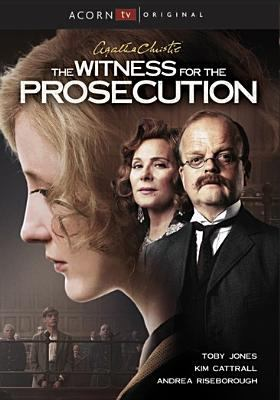 Cover image for The witness for the prosecution [videorecording DVD]