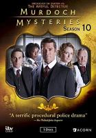 Cover image for Murdoch mysteries. Season 10, Complete [videorecording DVD]