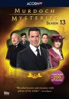 Cover image for Murdoch mysteries. Season 13, Complete [videorecording DVD]