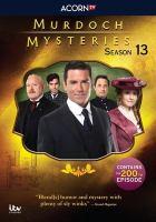 Imagen de portada para Murdoch mysteries. Season 13, Complete [videorecording DVD]