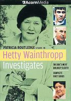 Cover image for Hetty Wainthropp investigates. Season 1, Complete Complete first series.
