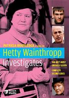 Cover image for Hetty Wainthropp investigates. Season 2, Complete Complete second series.