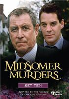 Cover image for Midsomer murders. Set 10 [videorecording DVD]
