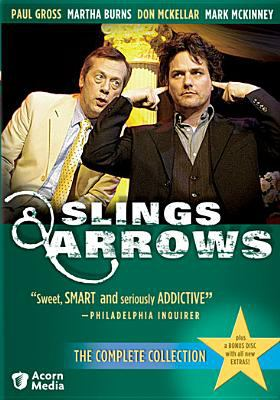 Cover image for Slings & arrows. The complete series