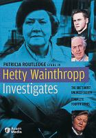Cover image for Hetty Wainthropp investigates. Season 4, Complete
