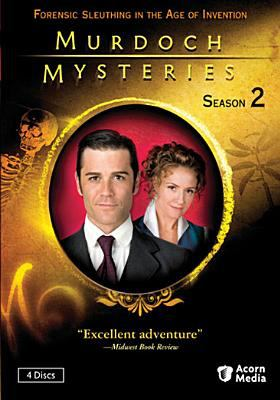 Cover image for Murdoch mysteries. Season 2, Complete [videorecording DVD]