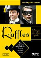 Cover image for Raffles : the complete collection [videorecording DVD]