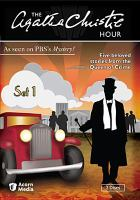 Cover image for The Agatha Christie hour. Set 1, Complete [videorecording DVD]
