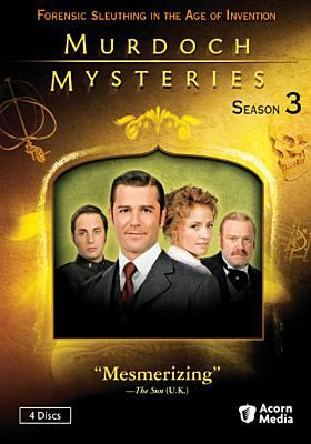 Cover image for Murdoch mysteries. Season 3, Complete [videorecording DVD]