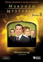 Cover image for Murdoch mysteries. Season 3, Disc 1
