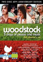 Cover image for Woodstock 3 days of peace and music